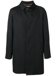 Sealup Buttoned Coat Cotton Polyester Cupro Black