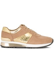 Michael Michael Kors 'Allie Wrap' Sneakers Nude And Neutrals