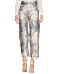 Aviu Casual Pants Platinum
