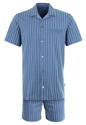 Schiesser Set Pyjamas Petrol Dark Blue