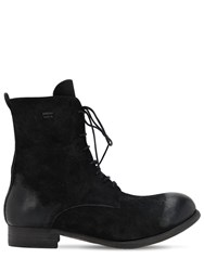 The Last Conspiracy Leather Boots Black