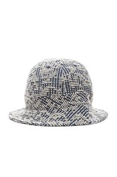 Norse Projects Bubble Weave Bucket Hat Cream