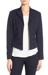 Women's Ellen Tracy Double Breasted Knit Blazer