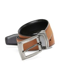 Tallia Orange Revesible Leather Belt Tan
