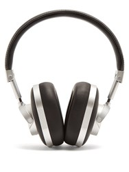 Master And Dynamic X 0.95 Mw60 Leather On Ear Wireless Headphones Black Silver