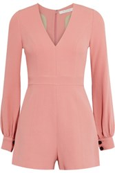 Alexis Kourtney Crepe Playsuit Baby Pink