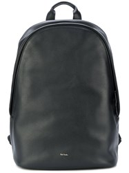 Paul Smith City Webbing Backpack Black