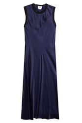 Dkny Satin Dress Blue