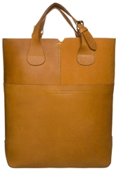 Zign Maxi Shopping Bag Tote Bag Curry Brown