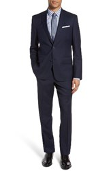 Nordstrom Men's Men's Shop Trim Fit Solid Wool Suit