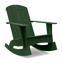 Loll Designs Adirondack Rocking Chair Curved Green