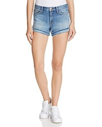 J Brand Sachi Denim Cutoff Shorts In Bleached Wrecked Bleach Wrecked