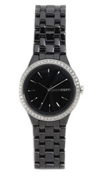 Dkny Park Slope Watch Black Stainless Steel
