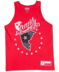 Famous Stars And Straps Famous Stars And Straps Men's Wild Patriot Tank Top Red