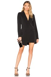Minkpink Blazer Mini Dress Black