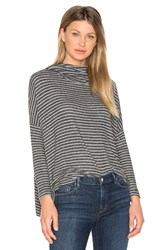 Sundry Drapey Pullover Charcoal