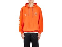 Heron Preston Men's Dsny Cotton French Terry Hoodie Orange