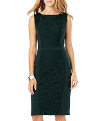 Phase Eight Alexa Lace Front Dress Juniper