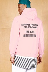 Forever 21 Bleach. Graphic Hoodie Pink