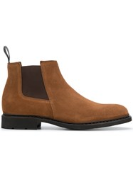 Paraboot Chelsea Ankle Boots Brown