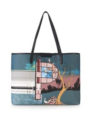 Mary Katrantzou P Melina Coated Canvas Tote