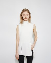 Proenza Schouler Cashmere Blend Turtleneck Shell Off White