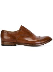Officine Creative 'Anatomia' Oxford Shoes Brown