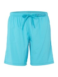 Moschino Men's Medium Plain Short Turquoise