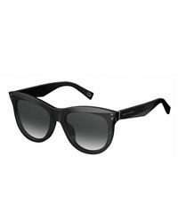 Marc Jacobs Faceted Butterfly Sunglasses Black