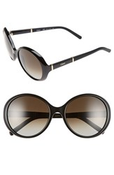 Chloe Women's Chloe 'Daisy' 58Mm Round Sunglasses