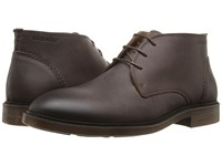Sebago Bryant Chukka Dark Brown Waxy Leather Men's Shoes
