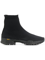 Alyx Knit Hiking Boots Black