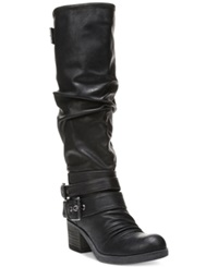 Carlos By Carlos Santana Claudia Wide Calf Tall Boots Women's Shoes Black