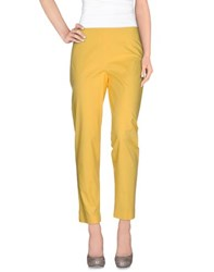 Jil Sander Navy Trousers Casual Trousers Women Yellow