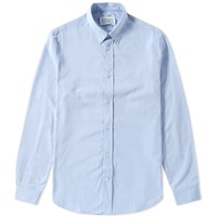 Maison Martin Margiela 14 Button Down Poplin Shirt Blue