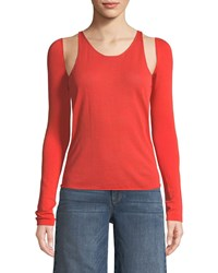 Helmut Lang Re Edition Tank Top With Detachable Sleeves Orange