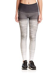 Norma Kamali Active Stretch Leggings Ombre Water