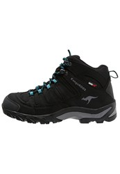 Kangaroos Outdoor Walking Boots Black Scubablue