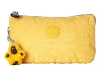 Kipling Creativity Large Pouch Canary Clutch Handbags Yellow