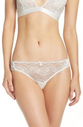 Mimi Holliday Women's Picture Perfect Lace Panty White
