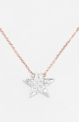 Dana Rebecca 'Julianne Himiko' Diamond Star Pendant Necklace