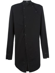 Lost And Found Ria Dunn Double Placket Shirt Black