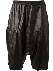 Lost And Found Drop Crotch Long Short Black
