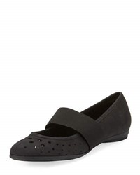 Sesto Meucci Averil Perforated Casual Flat Black