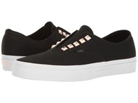 Vans Authentic Gore Two Tone Studs Black True White Skate Shoes