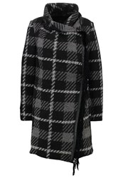 Replay Classic Coat Grey Black