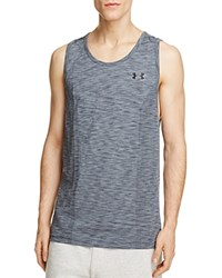 Under Armour Threadborn Seamless Tank Graphite Gray