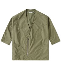 Nonnative Twill Zip Jacket Green