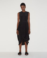 Simone Rocha Wrap Dress Black