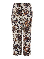 Part Two Fashionable Croppped Pants Brown